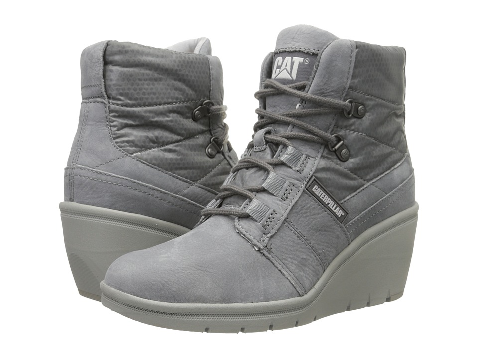 Caterpillar Casual - Harper (Frost Gray) Women's Work Boots