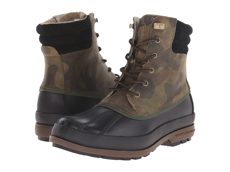 Sperry Top-Sider Cold Bay Boot (Camo/Black) Men