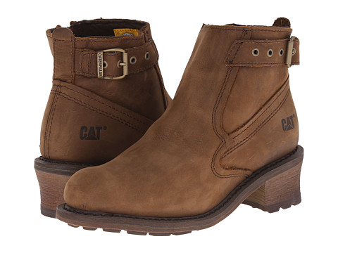 Caterpillar Casual - Pamela WP (Brown Sugar) Women's Work Boots