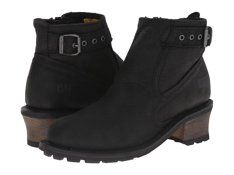 Caterpillar Casual - Pamela WP (Black) Women's Work Boots