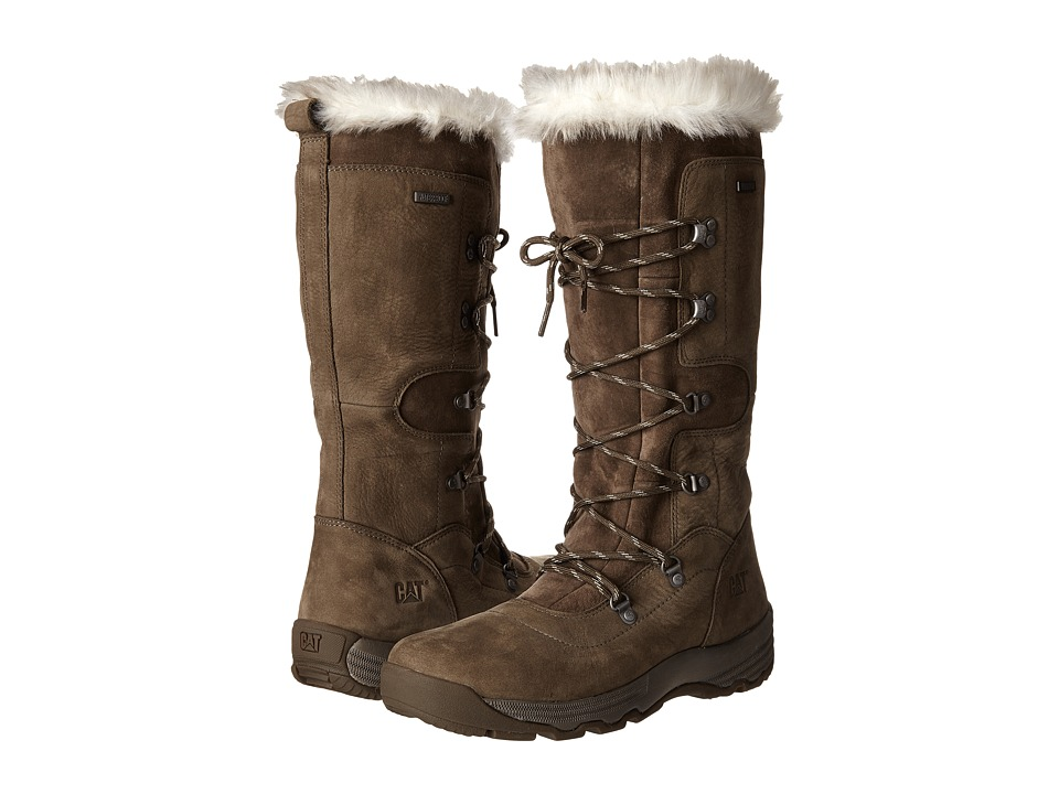 Caterpillar Casual - Devlin WP Fur (Spruce) Women's Work Boots
