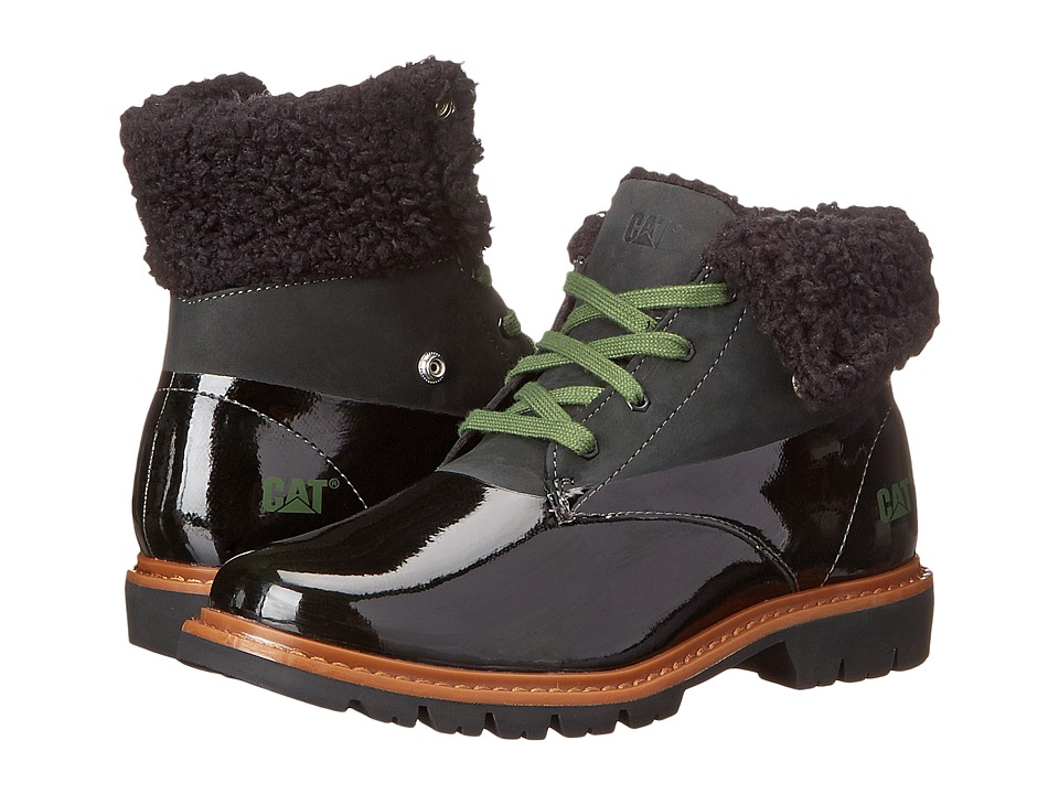 Caterpillar Casual - Hub Fur (Black) Women's Work Boots
