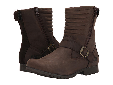 Caterpillar Casual - Darcy WP (Coffee Bean) Women's Work Boots