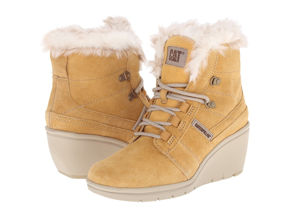 Caterpillar Casual - Harper Fur (Honey Reset) Women's Work Boots