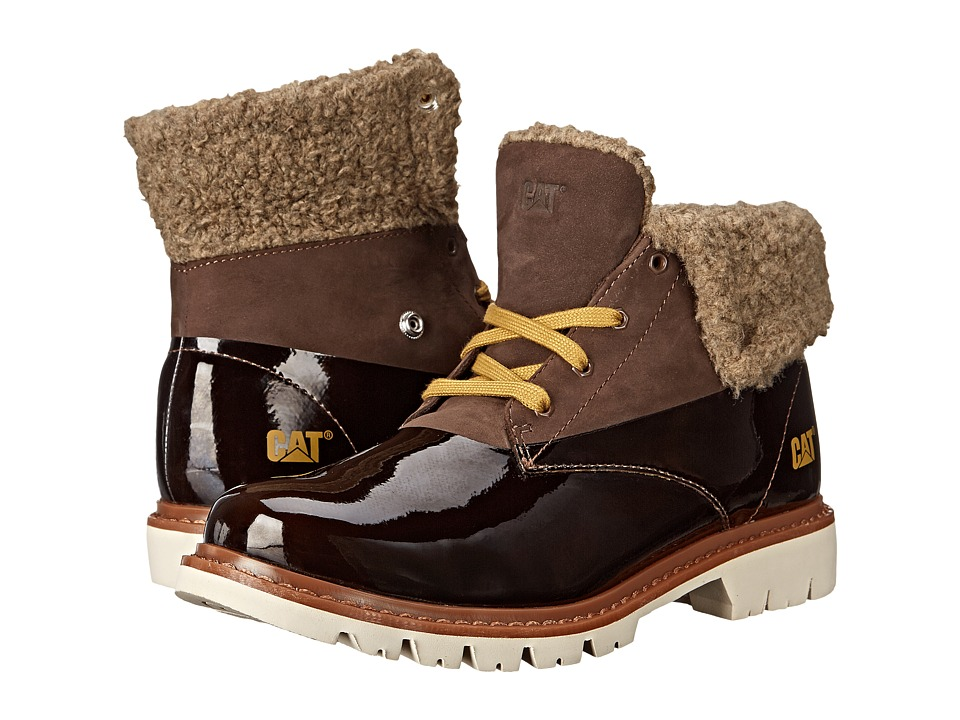 Caterpillar Casual - Hub Fur (Chocolate) Women's Work Boots