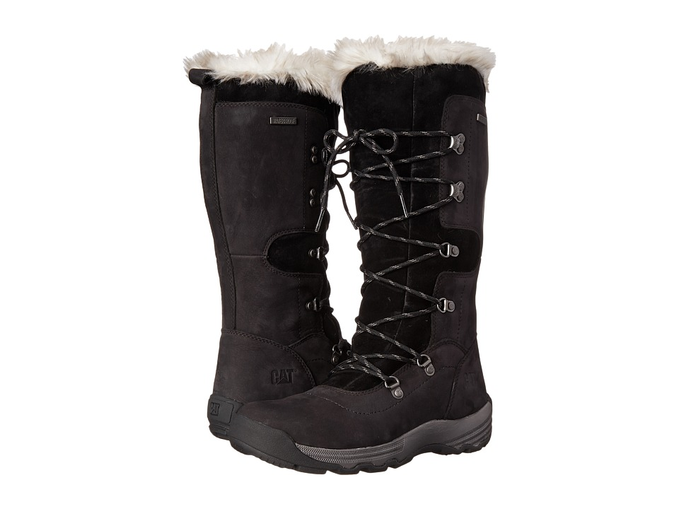 Caterpillar Casual - Devlin WP Fur (Black) Women's Work Boots