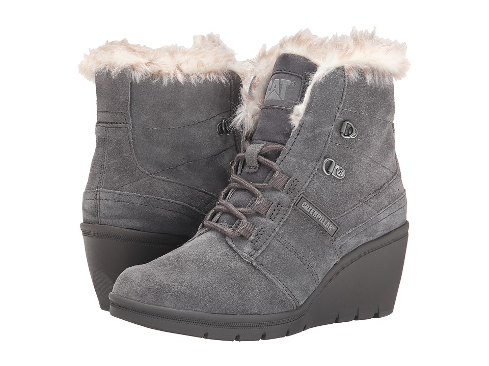 Caterpillar Casual - Harper Fur (Dark Gull Gray) Women's Work Boots