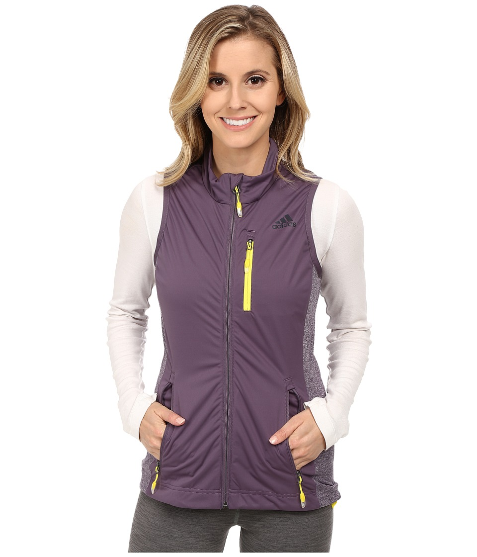 adidas Outdoor - Xperior Vest (Ash Purple/Raw Ochre) Women's Coat