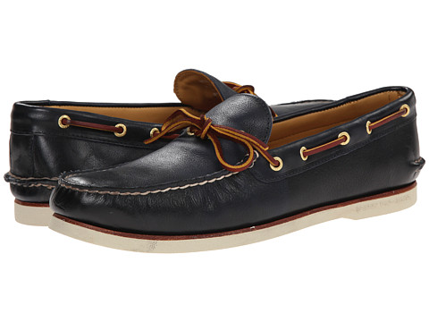 Sperry Top-Sider - Gold A/O 1-Eye (Navy) Men's Lace up casual Shoes