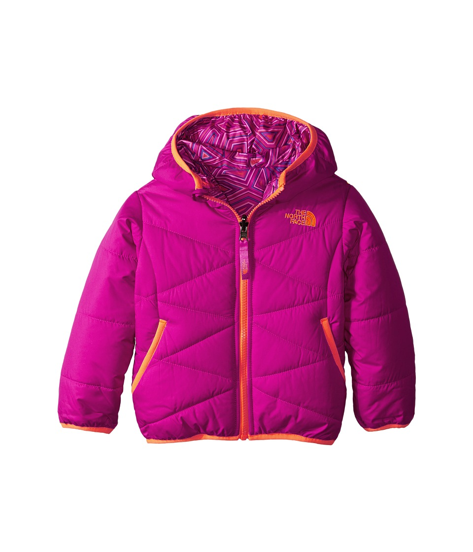 The North Face Kids - Reversible Perrito Jacket (Toddler) (Luminous Pink) Girl's Jacket