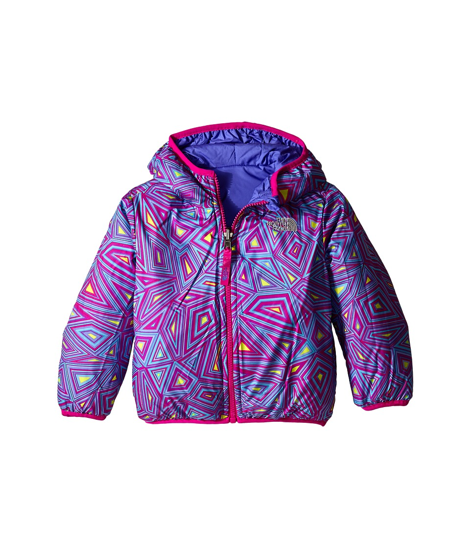 The North Face Kids - Reversible Perrito Jacket (Toddler) (Starry Purple) Girl