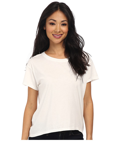 Alternative - Modal Crew Neck T-Shirt (White) Women's T Shirt