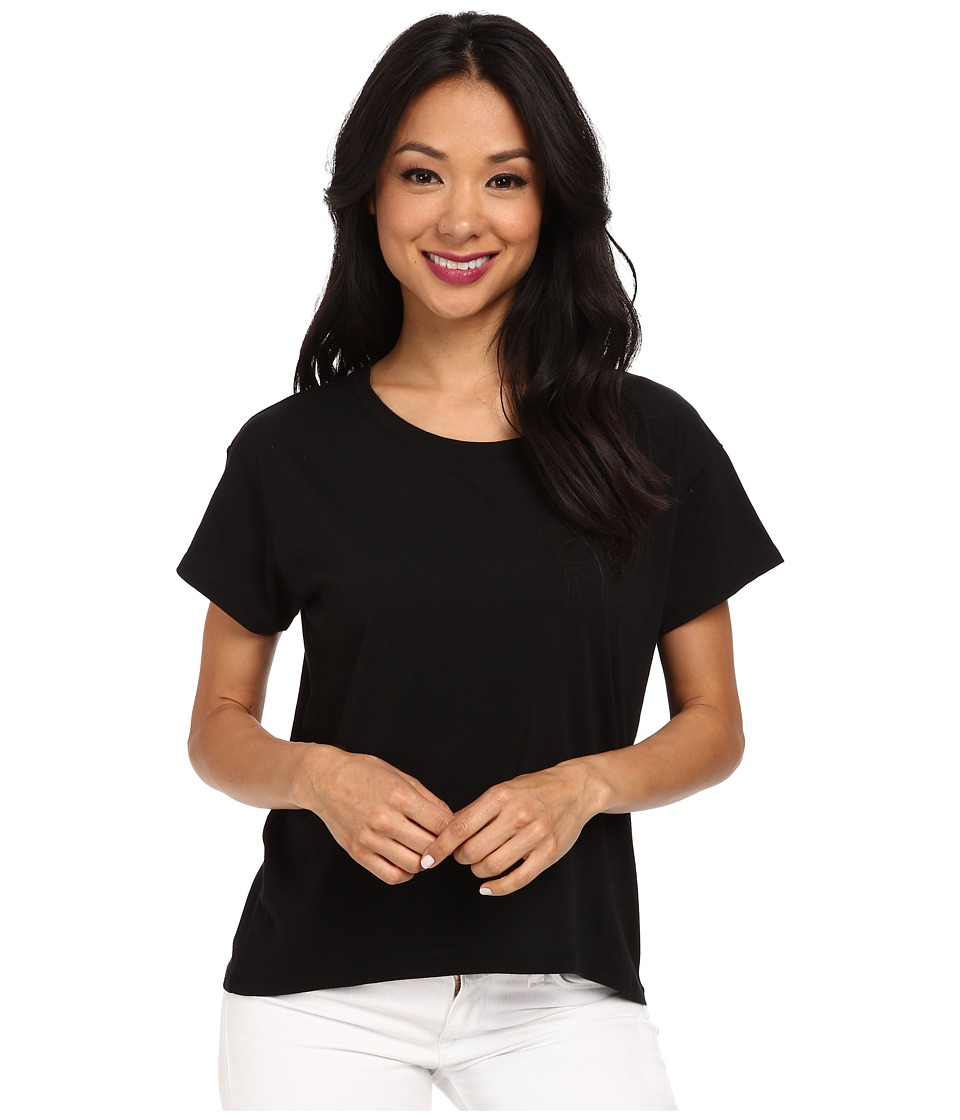 Alternative - Modal Crew Neck T-Shirt (Black) Women's T Shirt
