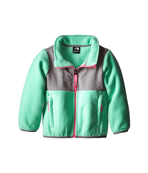 The North Face Kids - Denali Jacket (Toddler) (Recycled Surf Green) Girl's Coat