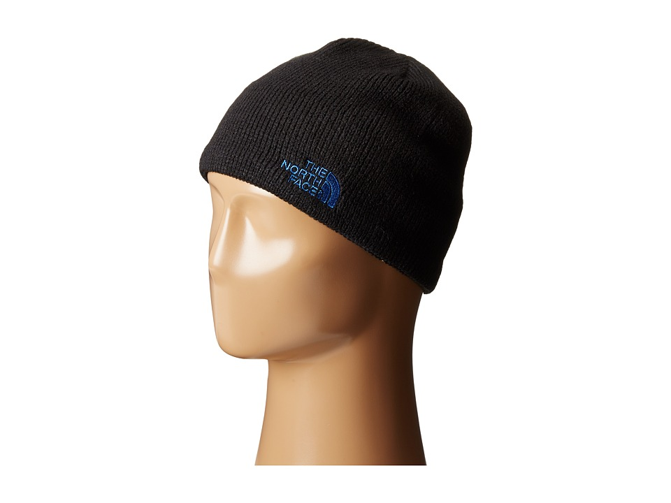 The North Face - Bones Beanie (TNF Black/Monster Blue) Beanies
