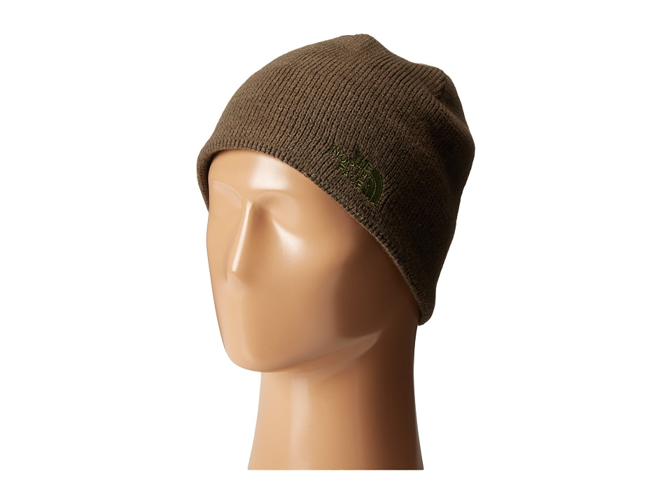 The North Face - Bones Beanie (Black Ink Green) Beanies