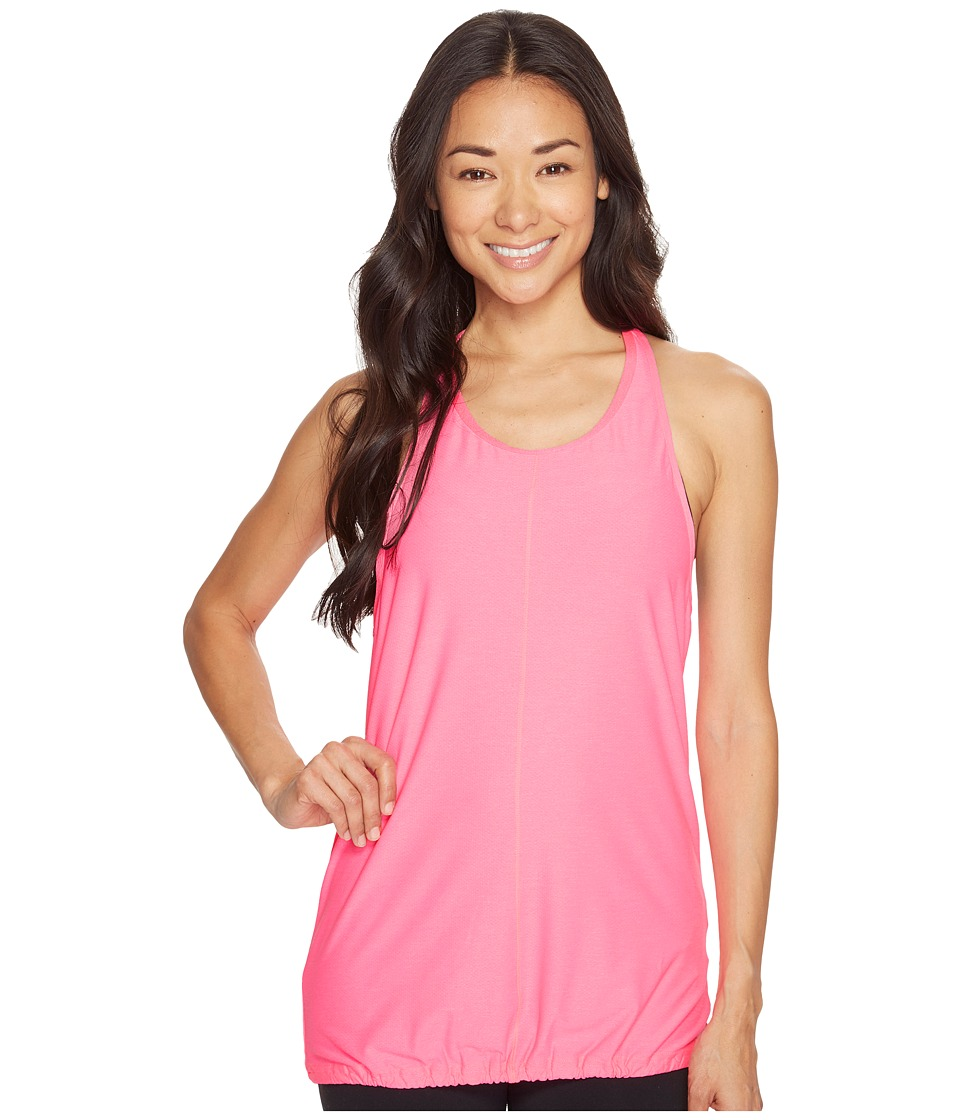 Under Armour - UA Studio Go-To Tank (Pink Punk/Metallic Pewter) Women's Sleeveless
