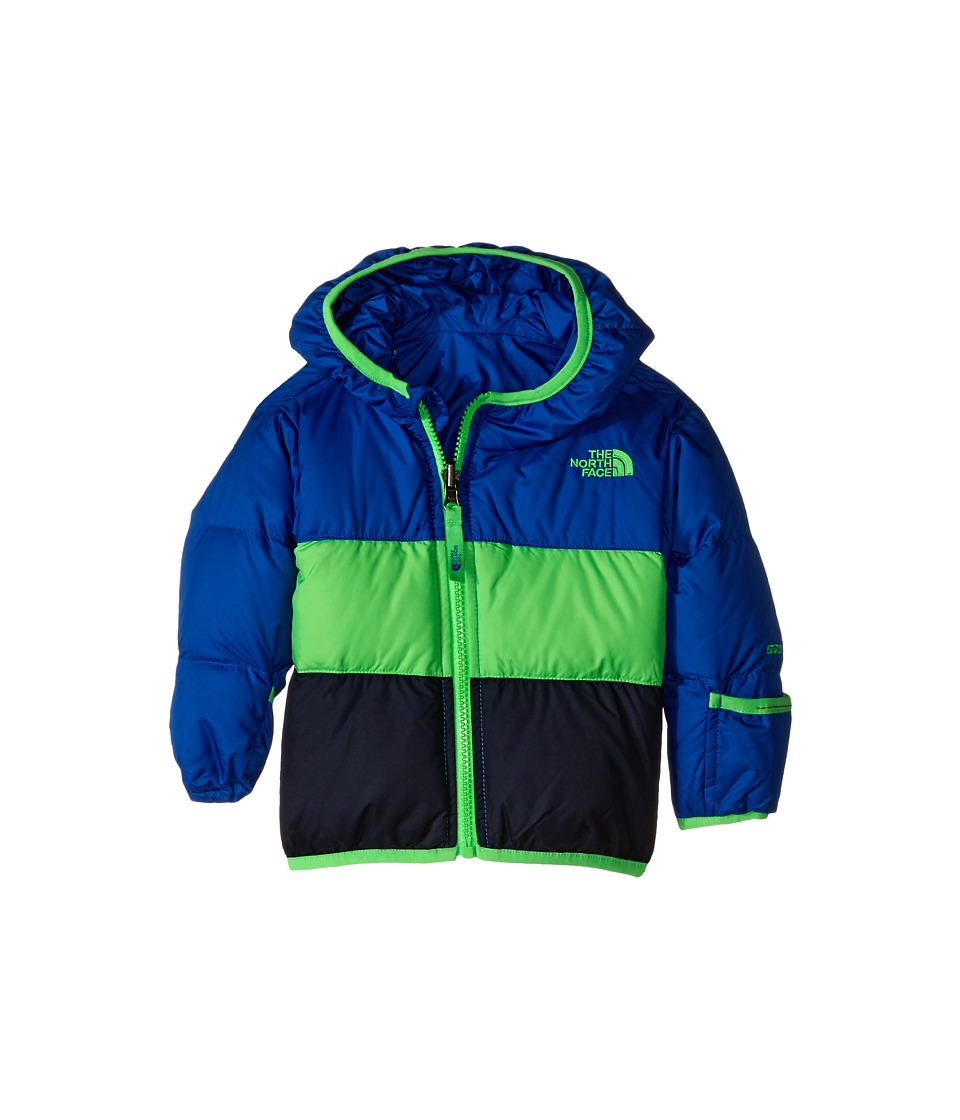 The North Face Kids - Reversible Moondoggy Jacket (Infant) (Monster Blue) Kid's Coat