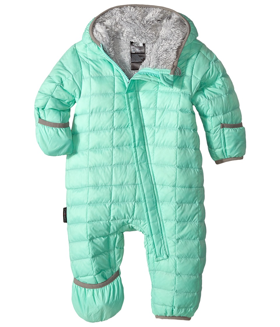 The North Face Kids - ThermoBall Bunting (Infant) (Surf Green) Kid's Jumpsuit & Rompers One Piece