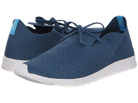 Native Shoes - Apollo Moc (Not So Blue/Shell White) Shoes