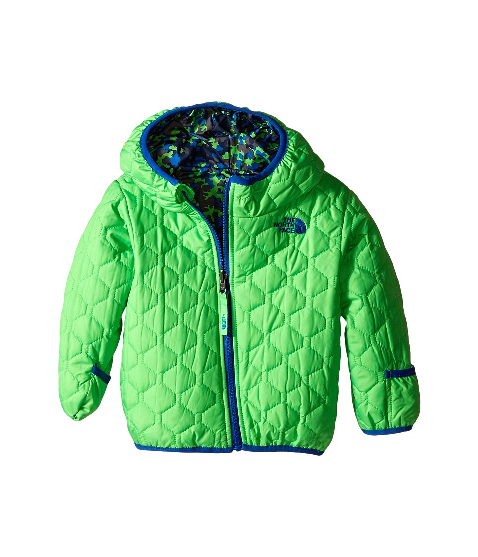 The North Face Kids - Reversible Perrito Jacket (Infant) (Krypton Green) Kid's Coat