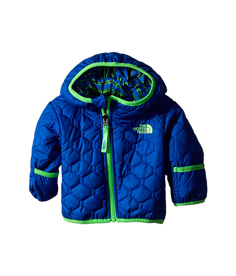 The North Face Kids - Reversible Perrito Jacket (Infant) (Monster Blue) Kid's Coat