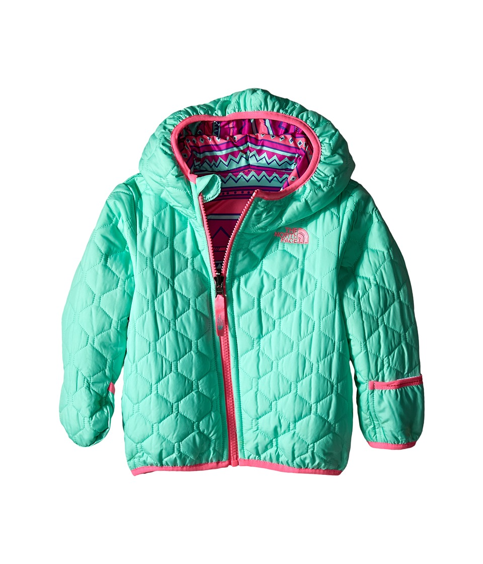 The North Face Kids - Reversible Perrito Jacket (Infant) (Surf Green) Kid's Coat
