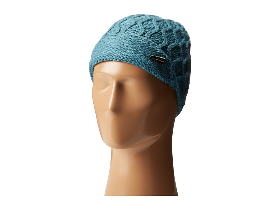 The North Face - Side Cable Beanie (Storm Blue) Beanies