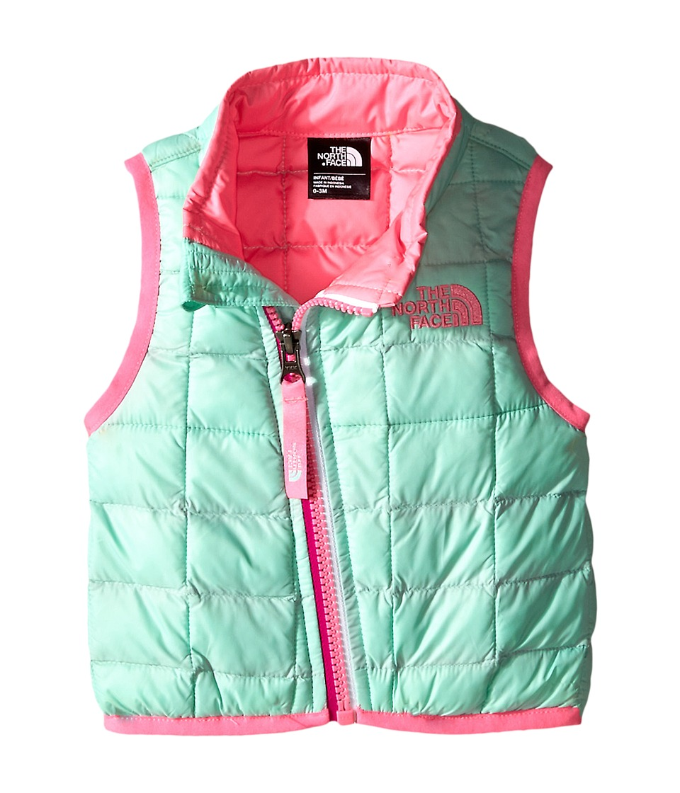 The North Face Kids - ThermoBall Vest (Infant) (Surf Green) Kid's Vest