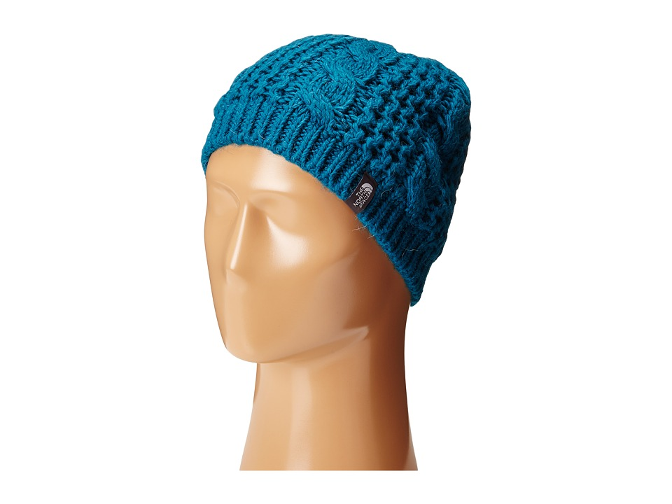 The North Face - Cable Minna Beanie (Juniper Teal) Beanies
