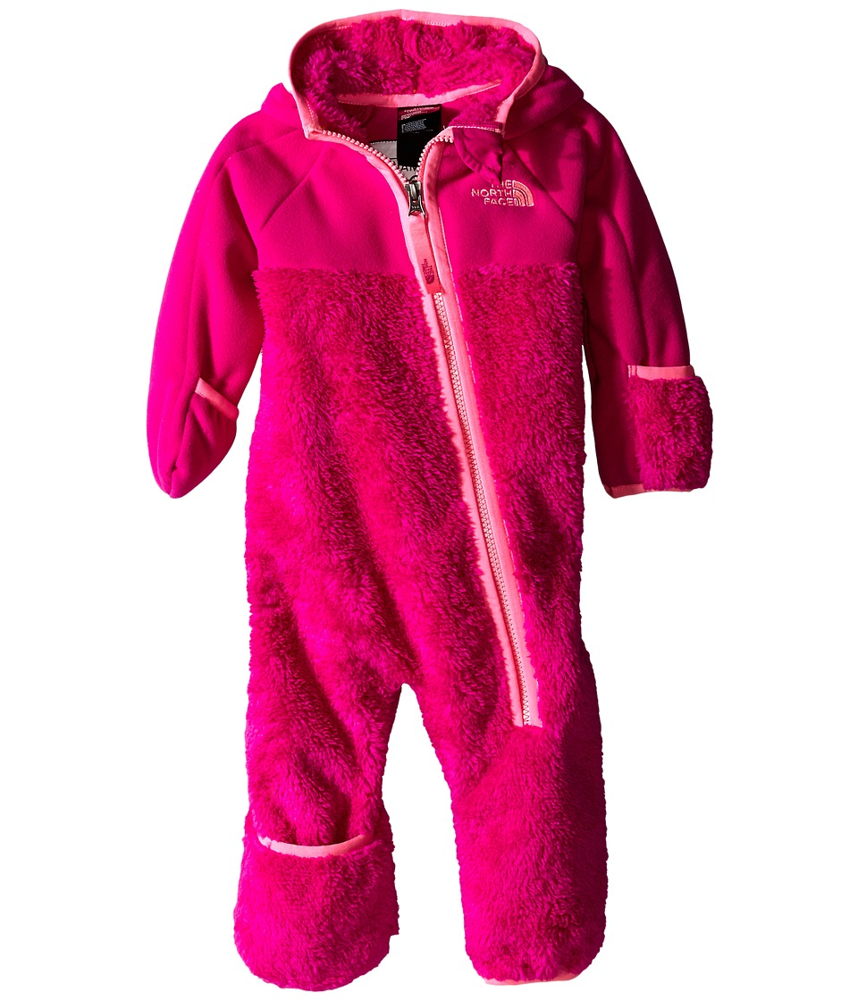 The North Face Kids - Chimborazo One Piece (Infant) (Luminous Pink) Kid's Jumpsuit & Rompers One Piece
