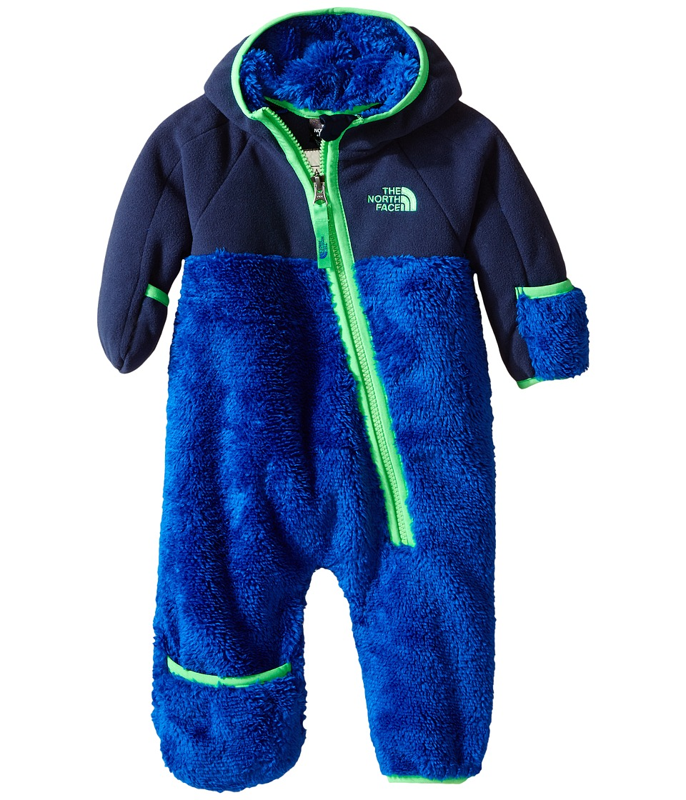 The North Face Kids - Chimborazo One Piece (Infant) (Monster Blue) Kid's Jumpsuit & Rompers One Piece