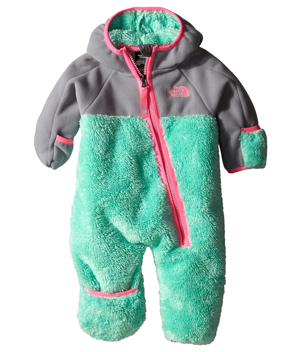 The North Face Kids - Chimborazo One Piece (Infant) (Surf Green) Kid's Jumpsuit & Rompers One Piece