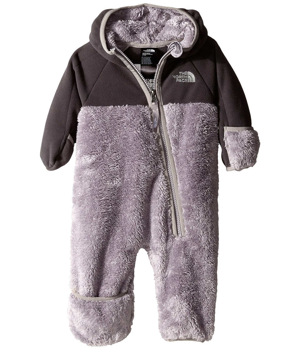 The North Face Kids - Chimborazo One Piece (Infant) (Metallic Silver) Kid's Jumpsuit & Rompers One Piece