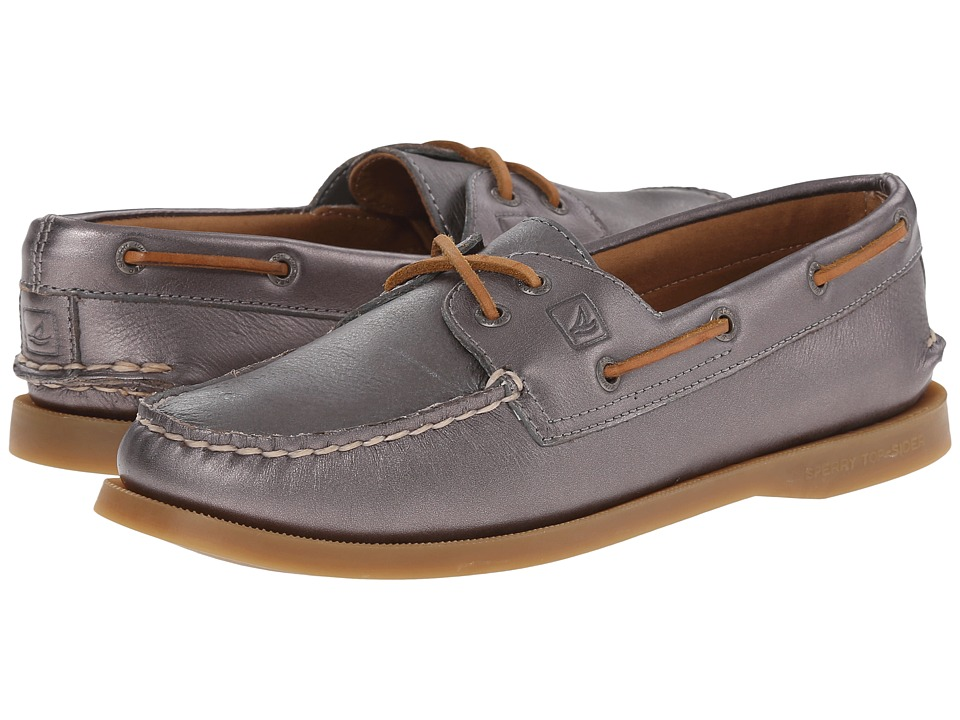 Sperry Top-Sider - A/O 2-Eye Metallic (Graphite) Women