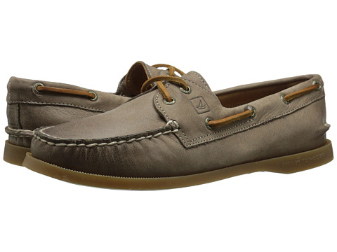 Sperry Top-Sider - A/O 2-Eye Weathered Worn (Greige) Women's Lace up casual Shoes