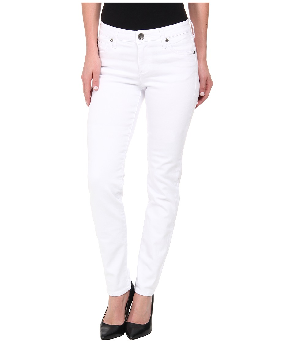 KUT from the Kloth - Diana Skinny Pant (White) Women's Casual Pants