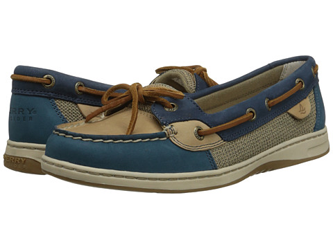 Sperry Top-Sider - Angelfish Tri-Tones (Blue/Linen/Navy) Women