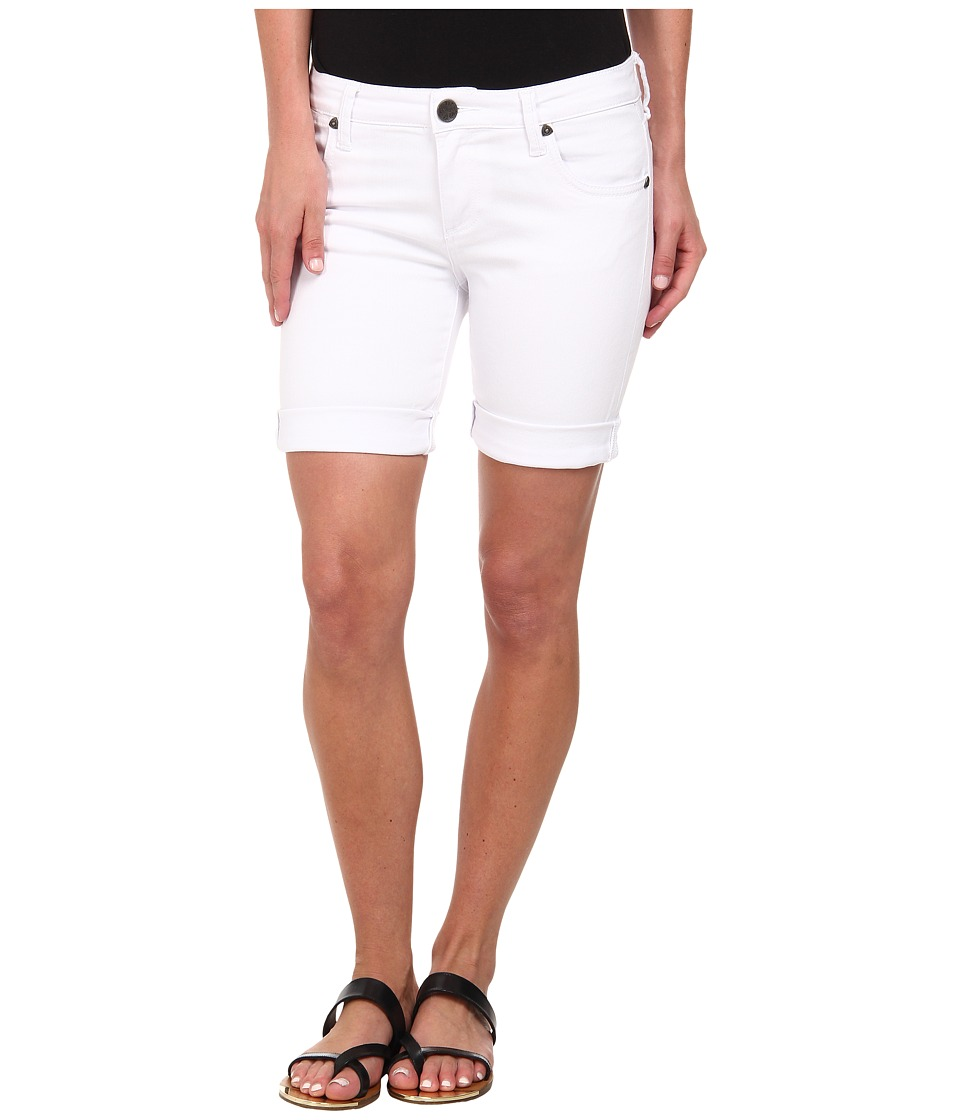42ab51bb8a UPC 601350531581 product image for KUT from the Kloth - Catherine Boyfriend  Short (White) ...
