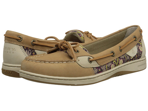 Sperry Top-Sider - Angelfish Liberty Floral (Linen/Berry) Women