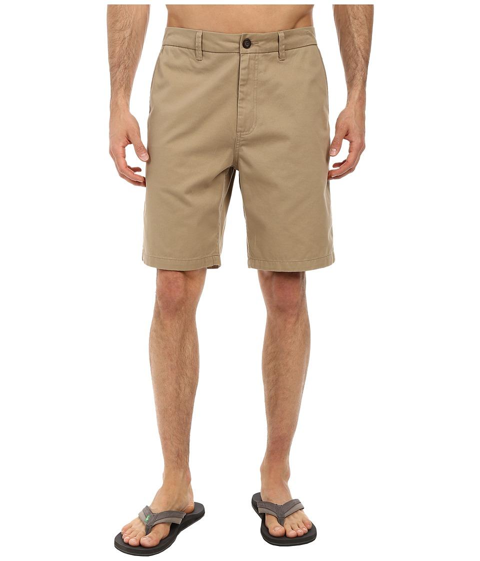 Jack O'Neill - Anchor Walkshorts (Khaki) Men's Shorts