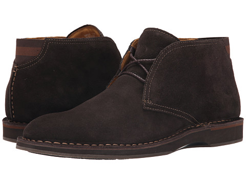 Sperry Top-Sider - Gold Norfolk Chukka Suede w/ ASV (Dark Brown) Men