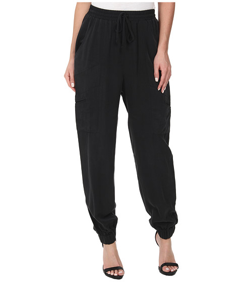 BCBGeneration - Utility Jogger Pants (Black) Women's Casual Pants