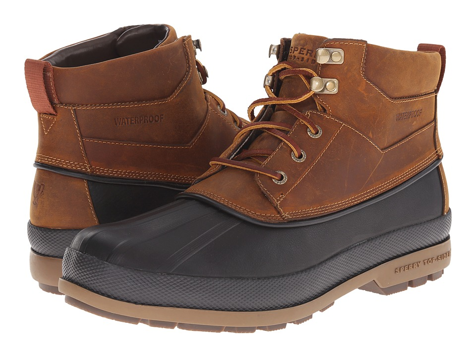 Sperry Top-Sider Gold Bay Boot (Tan/Black) Men