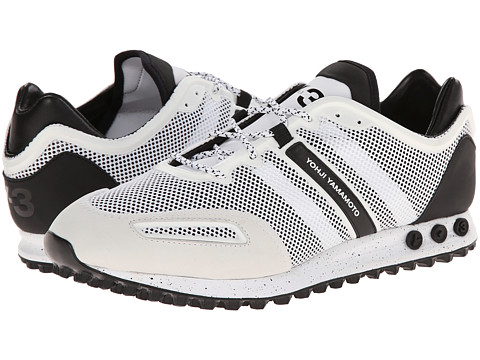 adidas Y-3 by Yohji Yamamoto - Tokio Trainer (Ftw White/Black Y-3/Black Y-3) Men's Lace up casual Shoes