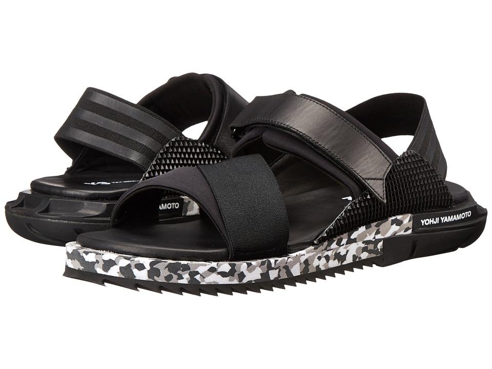 adidas Y-3 by Yohji Yamamoto - Kaohe Sandal (Black Y-3/Black Y-3/Black Y-3) Men's Sandals