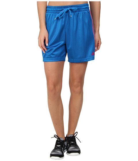 adidas - Varsity Shadow Shorts (Pride Blue/Blast Pink) Women