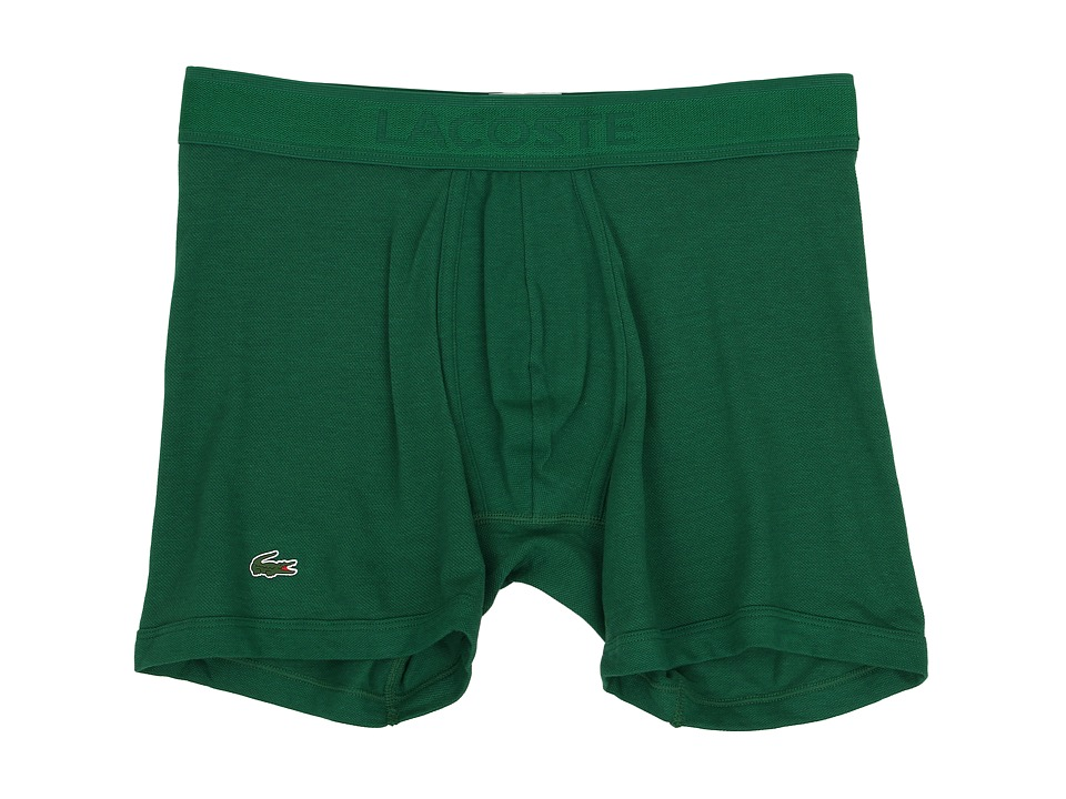Lacoste - Pique Underwear Pique Boxer Brief (Lacoste Green) Men's Underwear