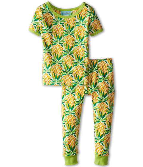 BedHead Kids - Short Sleeve Tee Pant Set (Infant) (Pineapples) Girl's Pajama Sets