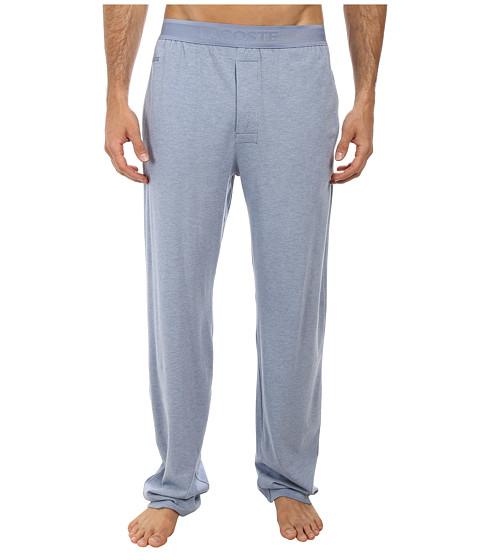 Lacoste - Pique Lounge Pants Pique (Denim Melange) Men's Pajama